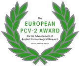 The EUROPEAN PCV-2 AWARD for the Advancement of Applied Immunological Research - Boehringer