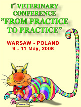 1st Veterinary Conference `From Practice To Practice`